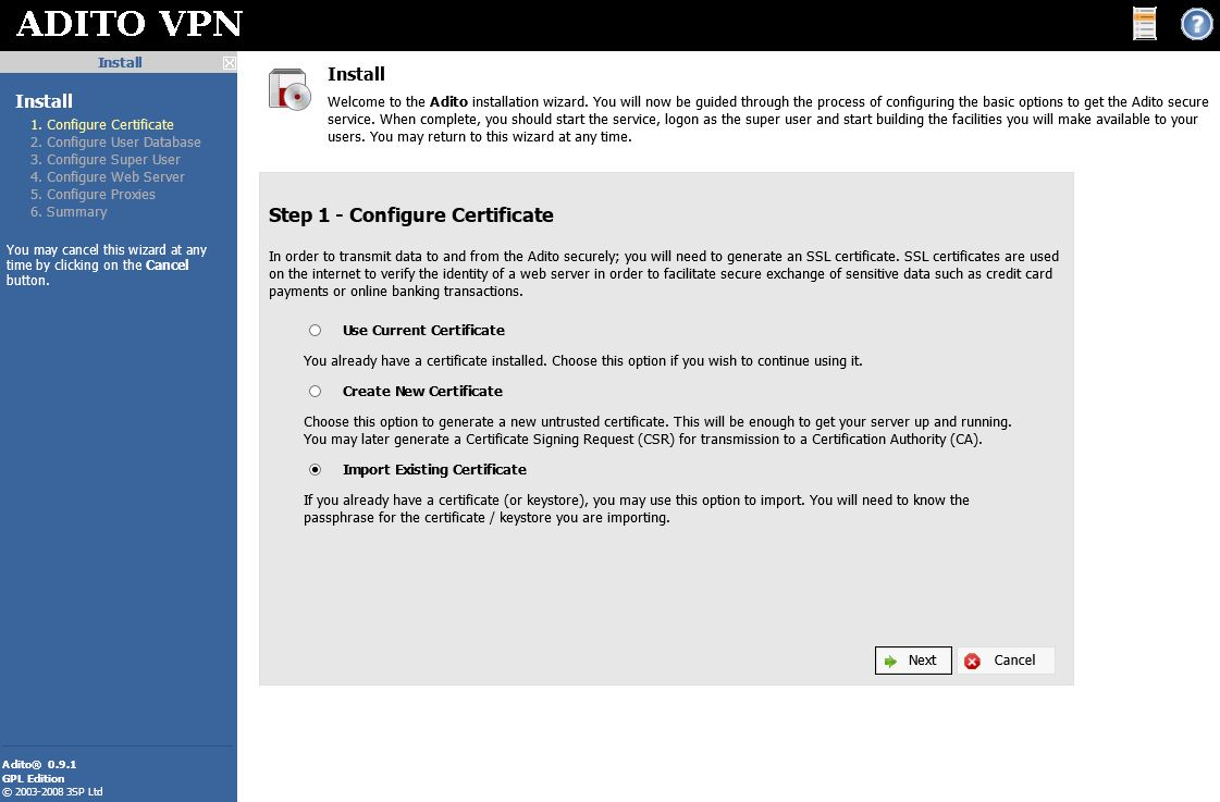 Adito security certificate pain in the butt but possible bits fill in all the pertinent information on the following screen ignore my typo please 1betcityfo Image collections